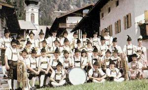 Musikkapelle im Jahr 1978 Leitung: Erich Zwerenz