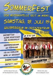 SommerfestMusikkapelle2015